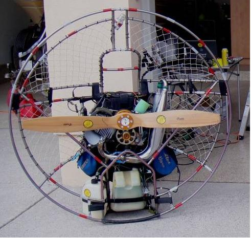 ParaMotor engine with Fuel Injections