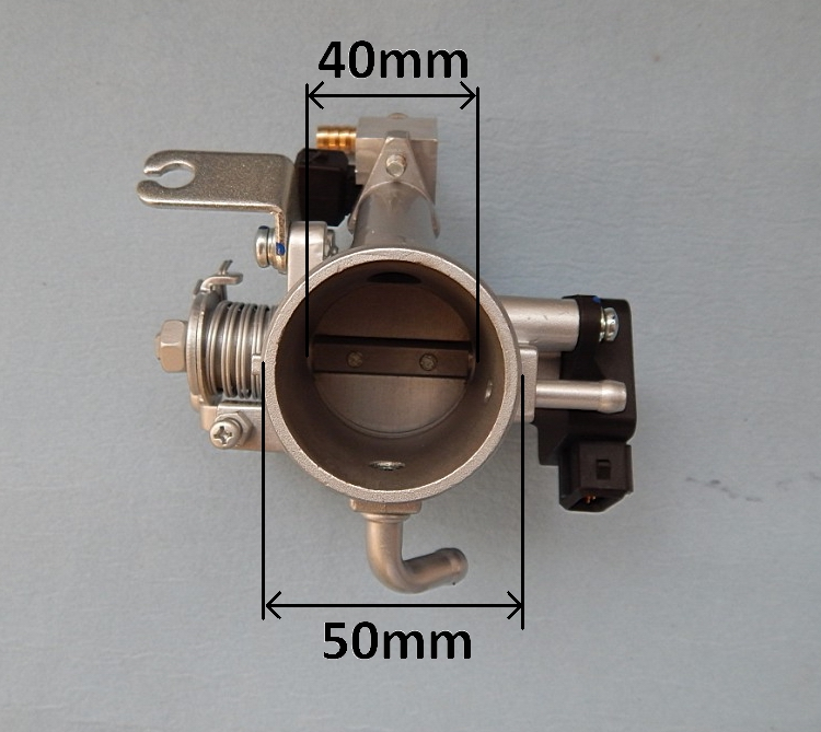 Throttle Position Sensor >> Ecotrons Small engine fuel injection 40mm throttle body | ECOTRONS