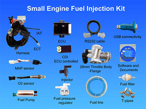 Small Engine Fuel Injection Kit Small Engine Efi